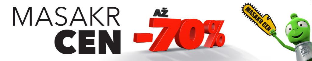 Masakr cen -70% na Alza.cz