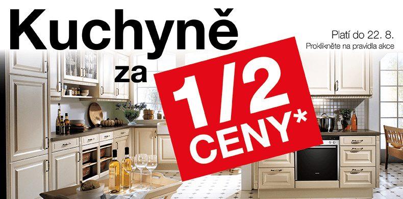 Kuchyně za 1/2 ceny na Sconto.cz