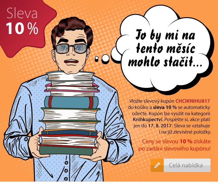 Sleva 10% na knihy a učebnice do Sevt.cz