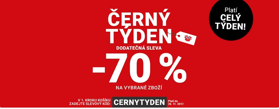 Black Friday na Rozbaleno.cz levy až 70%