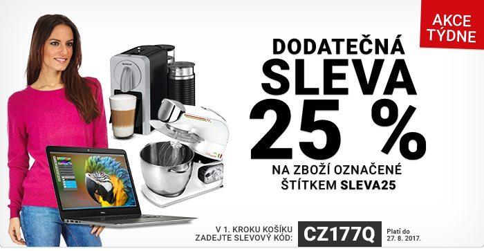 Dodatečna sleva 25% na Rozbaleno.cz