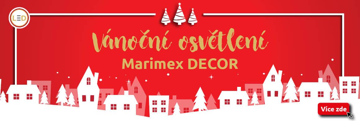 Sleva 10% na vánoční osvětlení do Marimex.cz