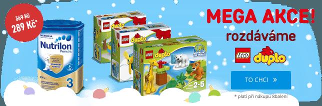 Lego zdarma ve Feedo.cz k nákupu Pampers