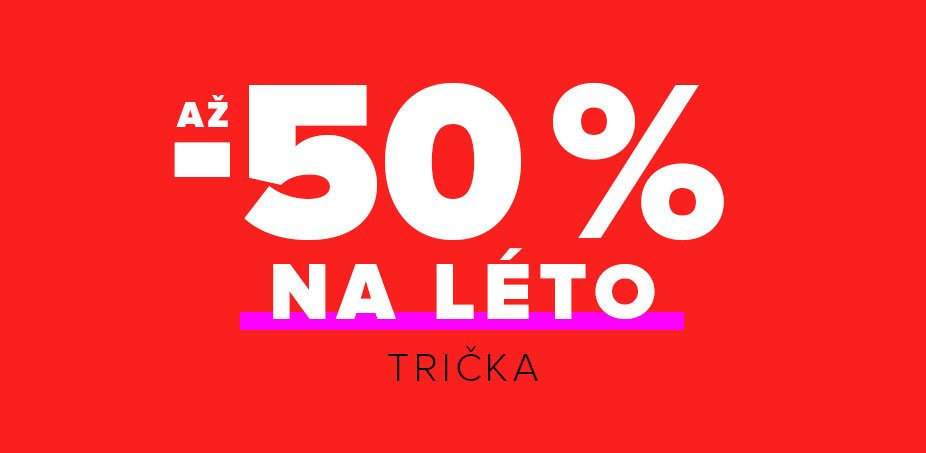 Zoot.cz sleva 50% na trička