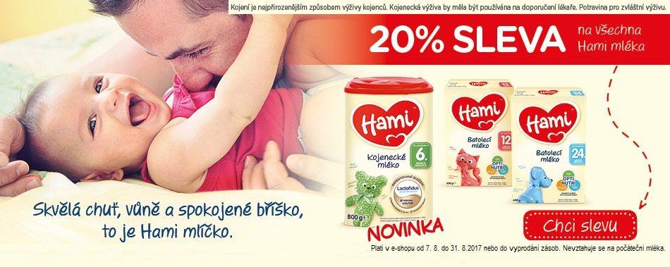 Sleva 20% na Hami do Benu.cz