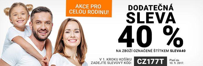 Dodatečná sleva 40% na Rozbaleno.cz