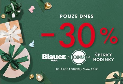 7753c3808d Sleva 30% na Blauer, Colmar, šperky a hodinky do Bibloo ...