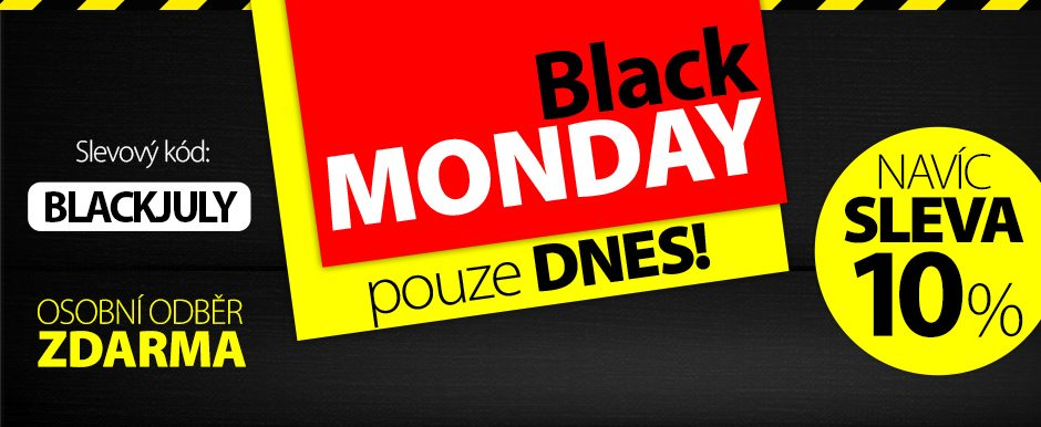 Black monday -10% na Kasa.cz