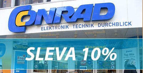 Conrad slevový kupón -10%
