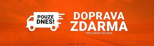 Doprava zdarma do e-shopu Rozbaleno.cz