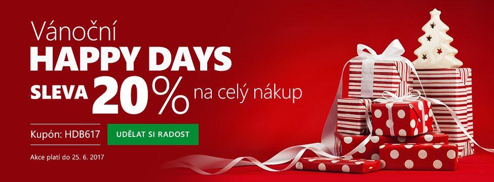 Slevový kupón Bonatex 20% - Happy days