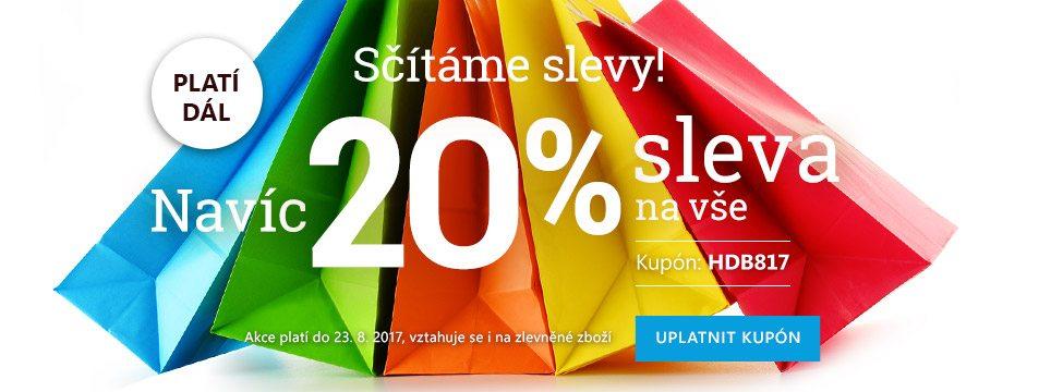 Akce 20% sleva do Bontex.cz na vše
