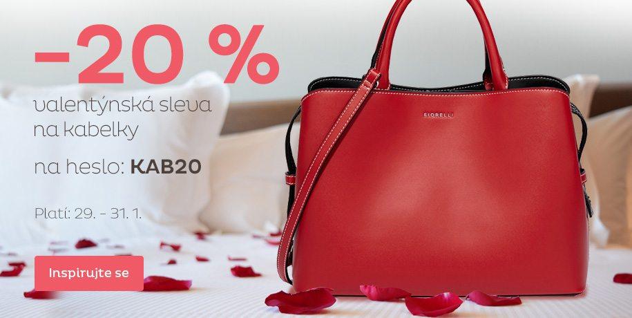 c1199bc420bb 20% slevový kód na kabelky - Vivantis.cz