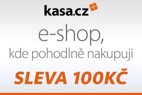 Kasa.cz slebobý kupón na slevu 100Kč
