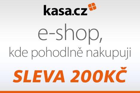 Kasa.cz slebobý kupón na slevu 200Kč