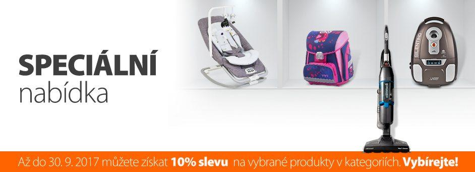 Sleva 10% do Kasa.cz na vybraný sortiment - Škola, Péče o dítě, Úklid