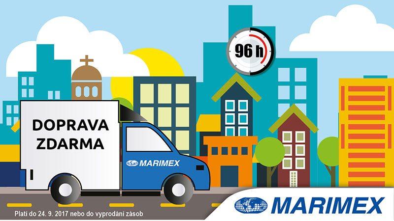 Doprava zdarma na Marimex