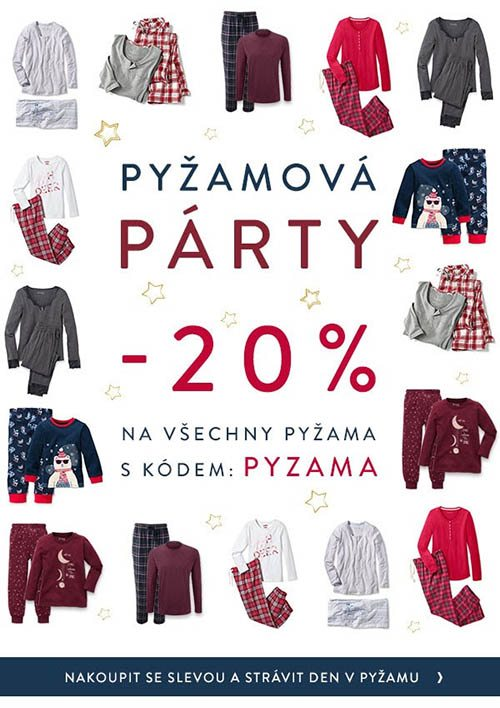 e33cf7f0d37 20% sleva na všechny pyžama v Tchibo.cz » OnlineKupony.cz