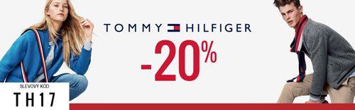 Sleva 20% na Tommy Hilfiger - Answear