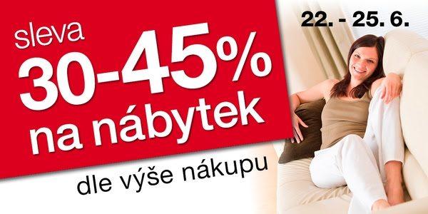 Sleva 30-45% dle výše nákupu na Sconto.cz
