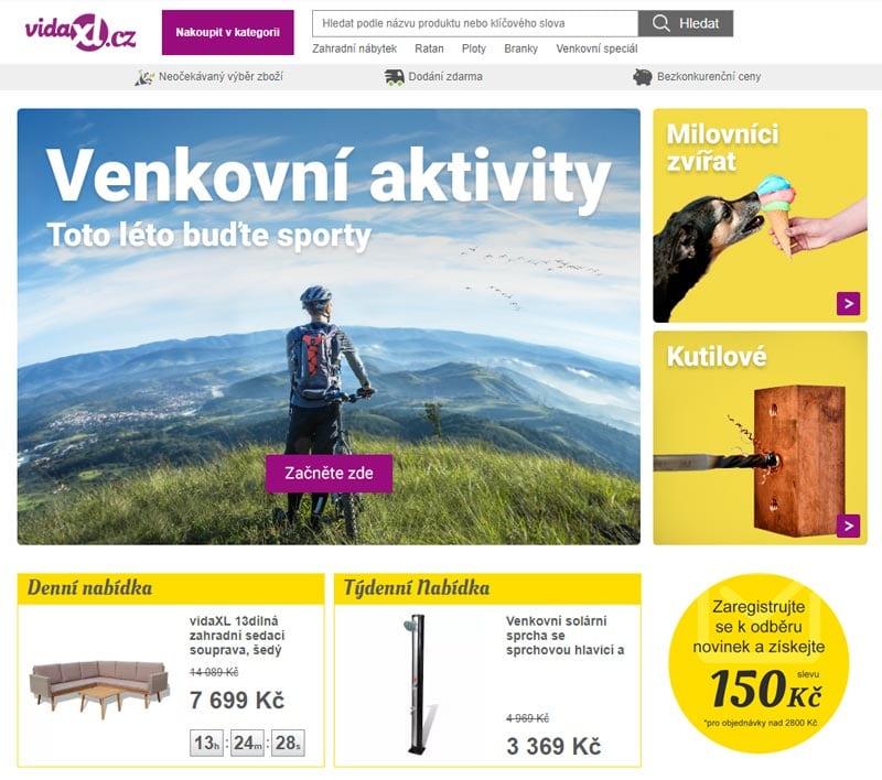 17613d003fba Recenze obchodu VidaXL » OnlineKupony.cz