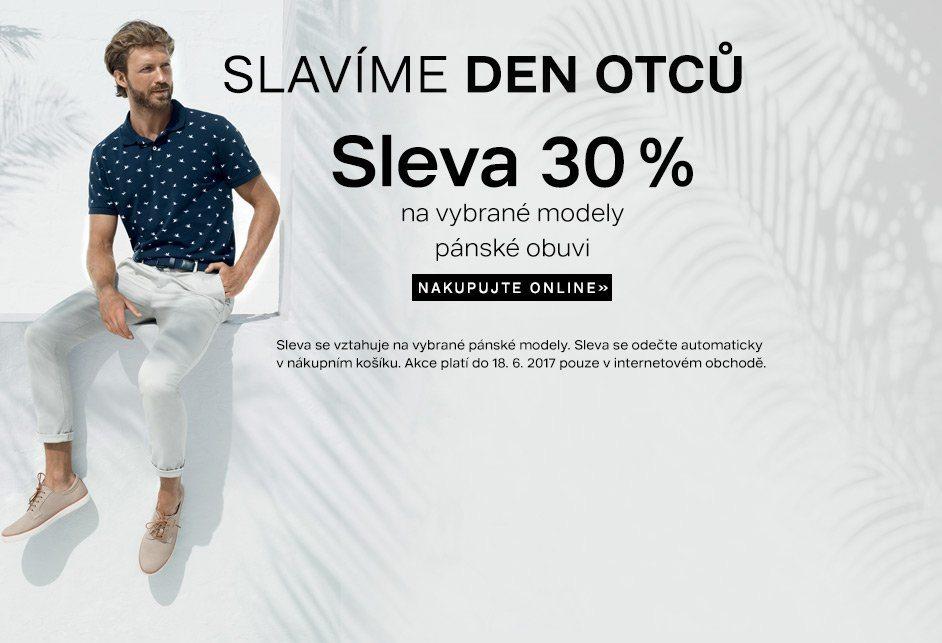 Sleva 30% na pínskou obuv ke dni otců na Deichmann.cz